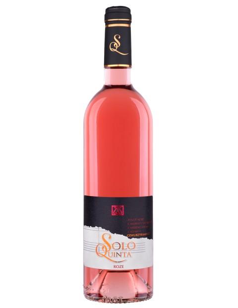 Recas Solo Quinta Rose - Pinot Noir, Cabernet Sauvignon, Cabernet Franc, Cadarca, Gewurtztraminer