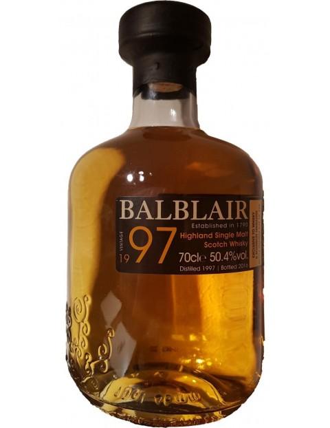 Balblair 1997 Vintage Single Malt