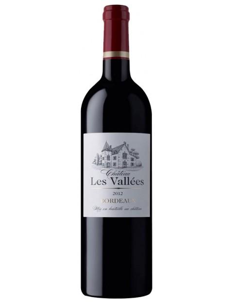 Chateau Les Valles Bordeaux Rouge