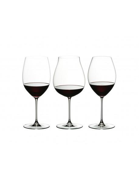 Pahare Veritas Red Wine set 3 pahare