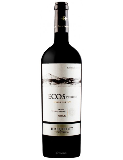 Bisquertt Family Vineyards - Ecos de Rulo - Merlot