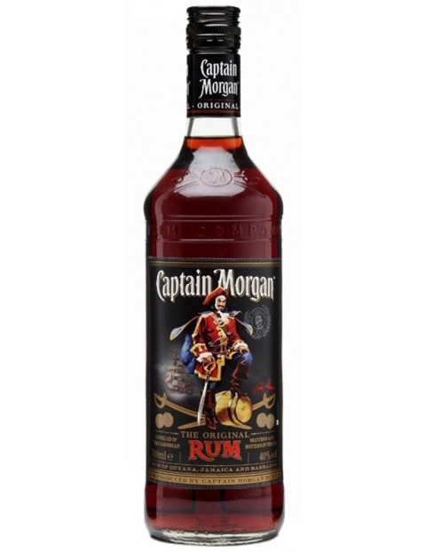 Rum - Captain Morgan - Black