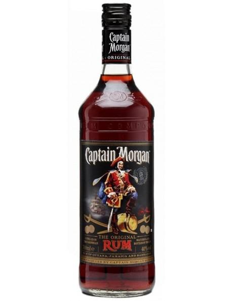 Rum - Captain Morgan - Black