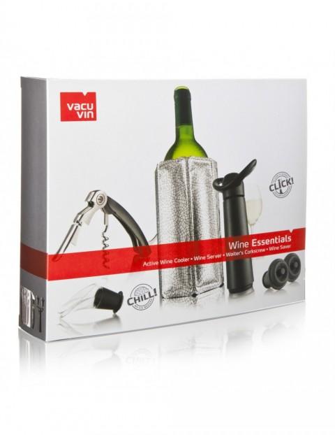 Set Vin - Esential Silver